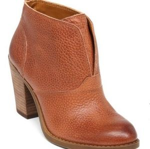 Lucky Brand Brown Leather Ehllen Boots 9.5